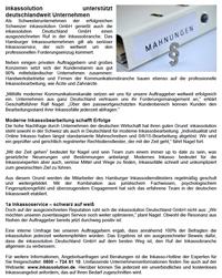 inkassolution unterstützt deutschlandweit Unternehmen