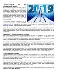 Jahresendspurt bei der Inkassolution GmbH